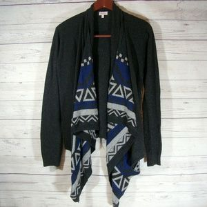 Pixley Stitch Fix Cashmere Tribal Cardigan Sweater